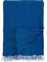Barneys New York Chevron-Pleated Cashmere Throw