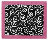 JoJo Designs Pink and Black Madison Accent Floor Rug by Sweet