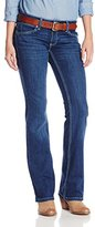 Wrangler Women's Premium Patch with Booty Up Technology Sits At Hip Jean