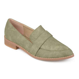 Journee Collection Womens Rossy Loafers Pointed Toe