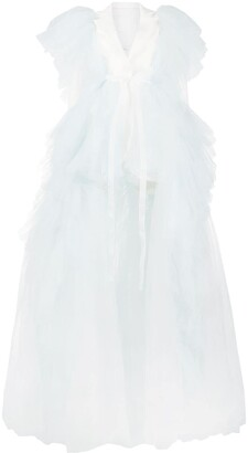 Loulou Tulle Blazer Dress