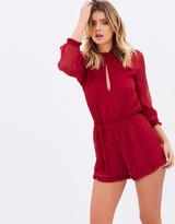 Adele High Neck Playsuit