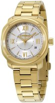 Wenger Women's Gold-Tone Steel Bracelet & Case Swiss Quartz -Tone Dial Analog Watch 01.1121.113
