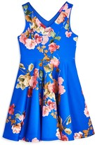 Aqua Girls' Floral Dress , Big Kid - 100% Exclusive
