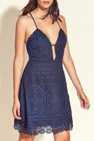 Lovers + Friends Orchard Navy Dress