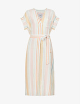 Thumbnail for your product : Rails Suri striped woven maxi dress