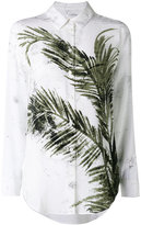 Equipment printed leaf shirt - women - Silk - M