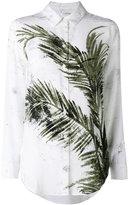 Equipment printed leaf shirt - women - Silk - S