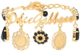 Dolce & Gabbana Gold-plated charm bracelet