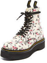 R 13 Floral Embroidery Single Stack Boots