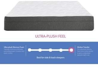"""12"""" Plush Gel Memory Foam Mattress Alwyn Home Mattress Size: Split California King"""