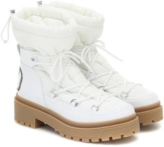 Valentino TREKKGIRL leather snow boots