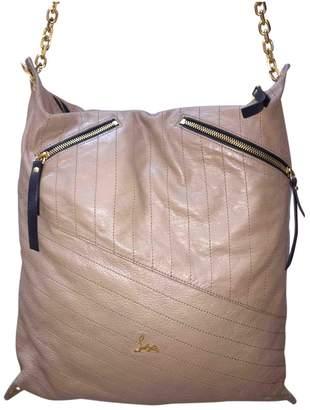 Christian Louboutin Beige Leather Handbags