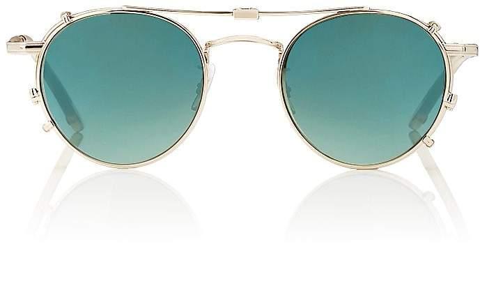 Garrett Leight Men's Wilson Sunglasses & Clip-Ons