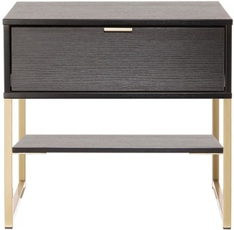 Swift Diego Ready Assembled1 Drawer Bedside Chest