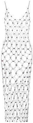 Paco Rabanne Exclusive to Mytheresa Embellished chain dress