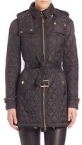 Burberry Bellbridge Technical Diamond Quilted Trench Parka