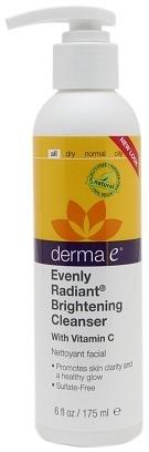 Derma E Evenly Radiant Brightening Cleanser with Vitamin C