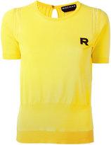 Rochas embroidered R jumper - women - Cotton - 42