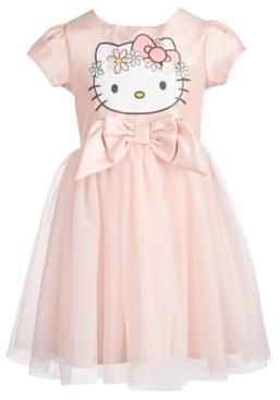 Hello Kitty Toddler Girls Flower Crown A-Line Dress