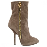 Giuseppe Zanotti Grey Suede Ankle boots