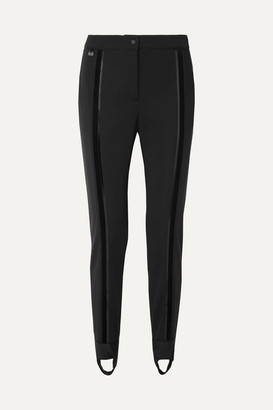 Fendi Stretch Ski Stirrup Pants - Black