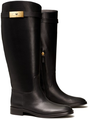 Tory Burch T-Hardware Riding Boot