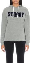 Stussy University stretch-cotton hoody