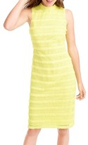 J.Crew Women's Fringy Lace Sheath Dress