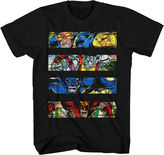 Novelty T-Shirts Marvel X-MEN Intimidation Graphic T-Shirt