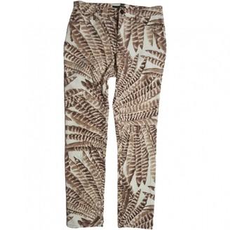 Lauren Ralph Lauren Multicolour Cotton Trousers for Women