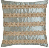 "Dian Austin Couture Home Lucille Pillow, 18""Sq."