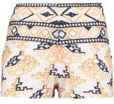 Antik Batik Embroidered Cotton-Blend Shorts