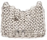 Paco Rabanne 1969 Nano Small Chain Shoulder Bag - Womens - Silver