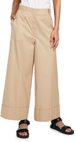 The Row Carter Wide-Leg Cotton Pants