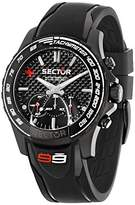 Sector Men's R3271677001 Black Watch with Polyurethane Band