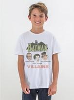 Junk Food Clothing Kids Boys Batman Tee-electric White-l