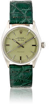 Vintage Watch Women's Vintage Oyster Perpetual Air-King Watch-GREEN