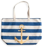 Rosanna 'Anchor Stripe' Tote - Blue