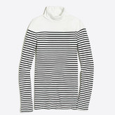 J.Crew Factory Drop-stripe tissue turtleneck