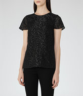Reiss Fasey Metallic Top