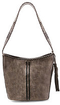 Steve Madden Steven by Macey Whip-Stitched Hobo Bucket Bag