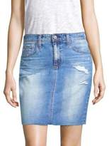 AG Jeans The Erin Denim Skirt
