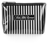 Saks Fifth Avenue Signature Striped Zip Pouch
