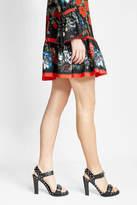 Alexander McQueen Studded Leather Sandal Heels