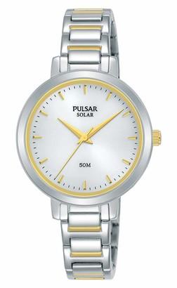 Pulsar Women's Analogue Quartz Watch with Stainless Steel Strap PY5073X1