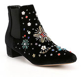 Betsey Johnson Jax Sequin and Rhinestone Star Booties