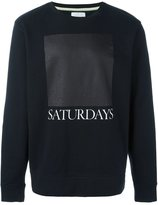 Saturdays Surf NYC logo print sweatshirt
