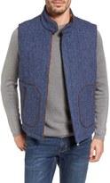 Tommy Bahama Men's Reversible Tweed Wool Vest
