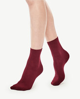 Ann Taylor Refined Crew Socks